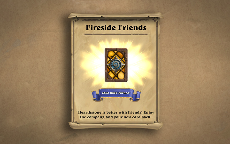 Hearthstone Fireside Friends