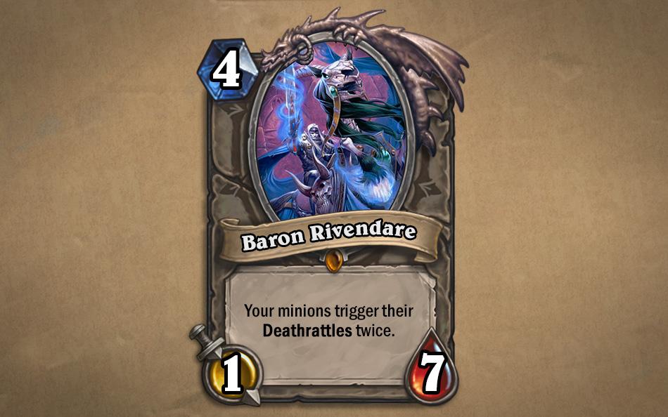 Baron Rivendare kártya