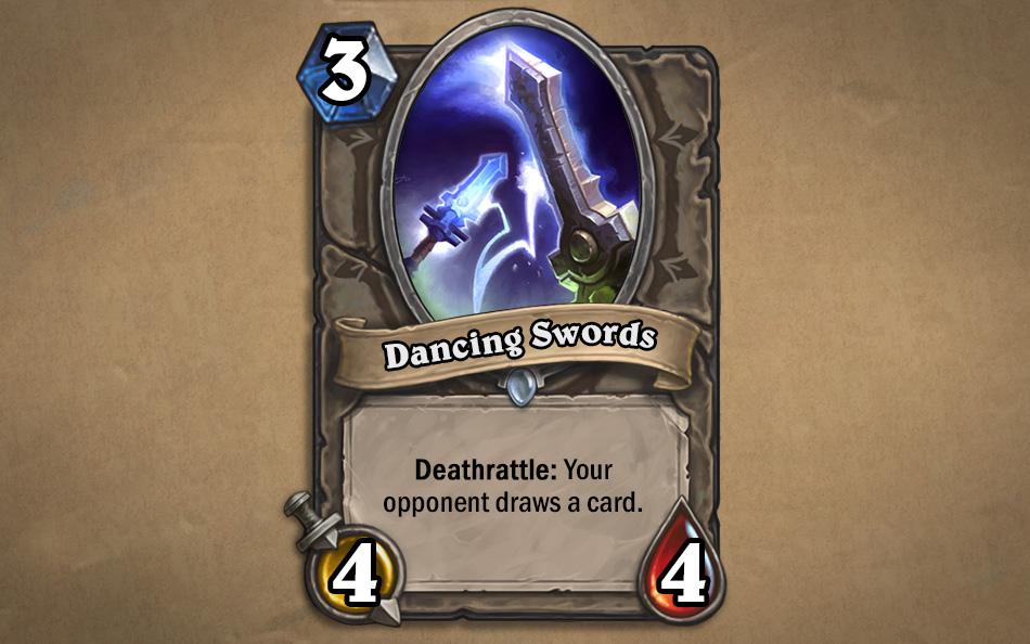 Dancing Swords kártya
