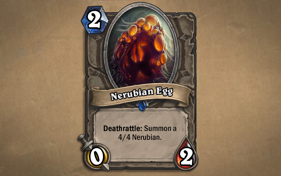 Nerubian Egg kártya