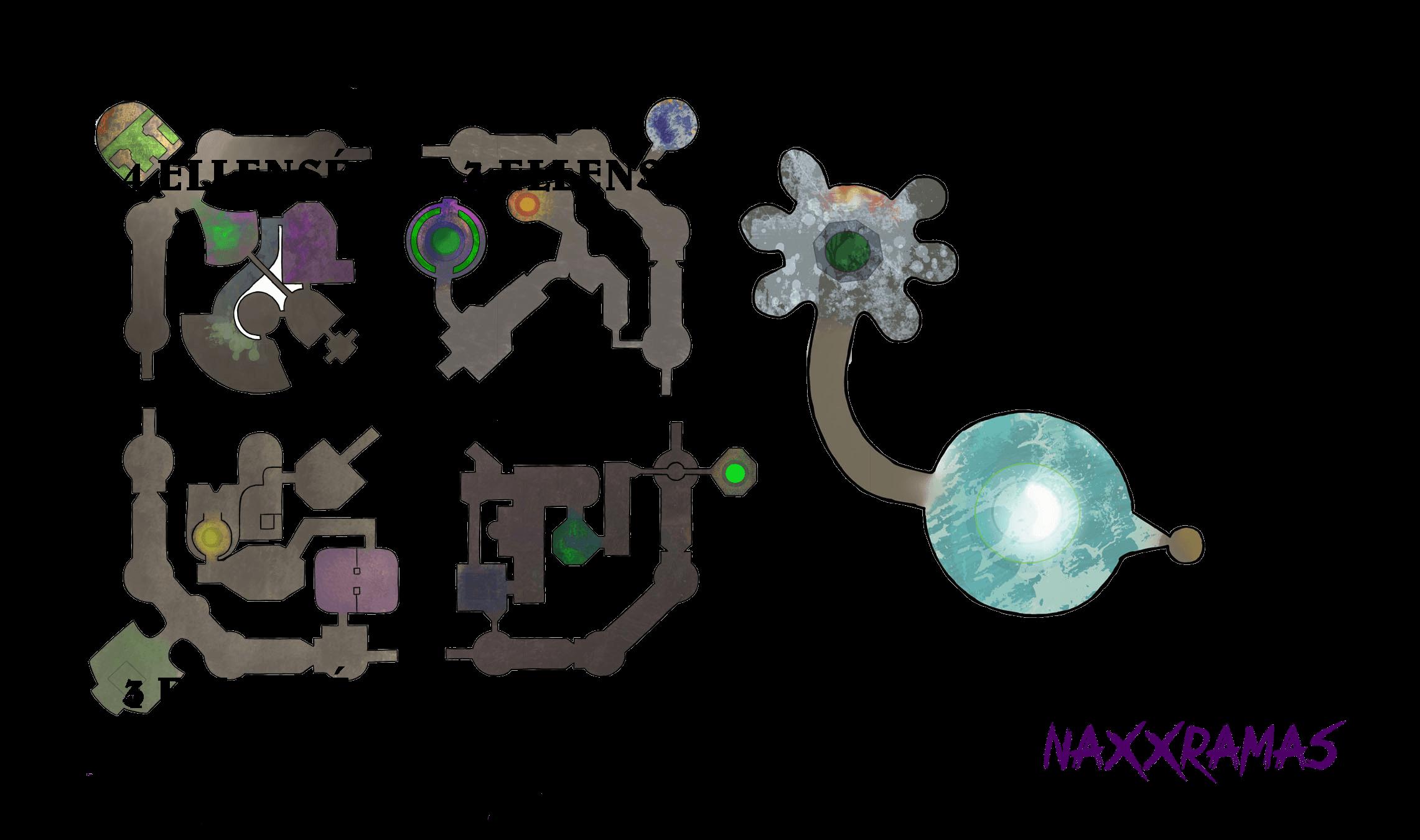 Naxxramas Hearthstona map