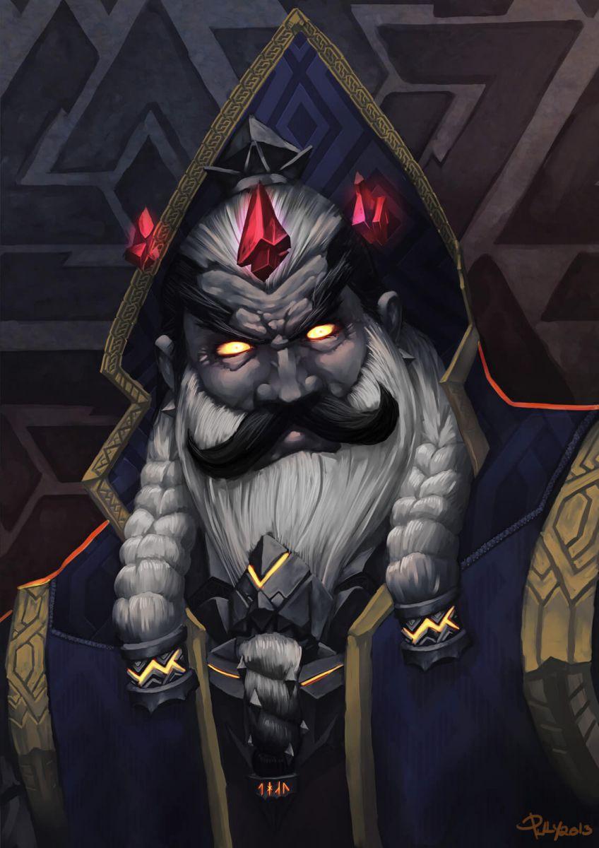 emperor thaurissan artwork