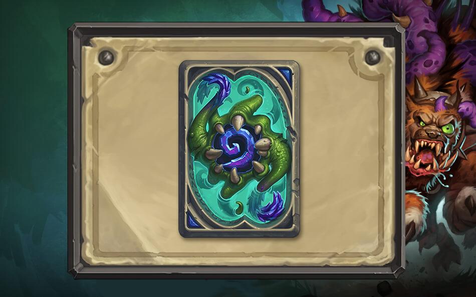 Yogg-Saron kártya hátlap