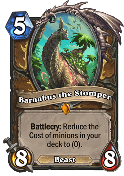 Barnabus the Stomper