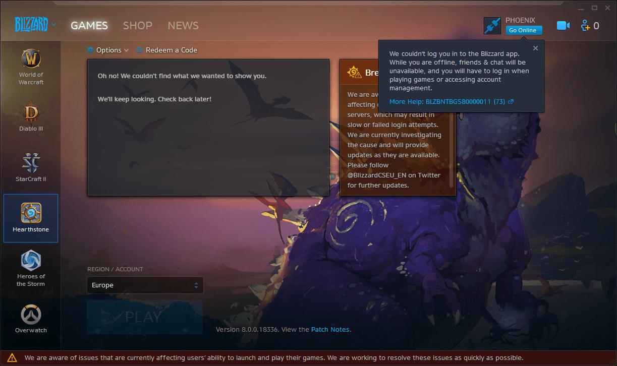 Blizzard Launcher