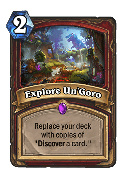 Explore UnGoro