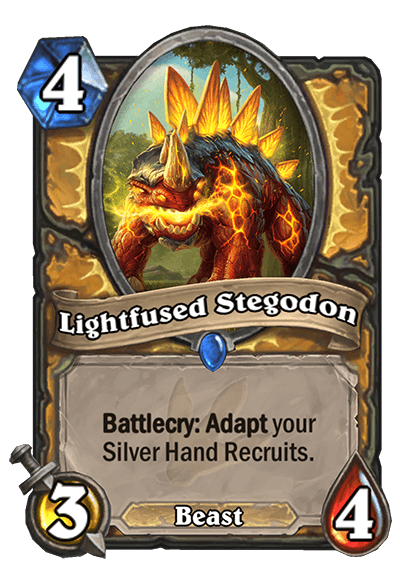 Lightfused Stegodon