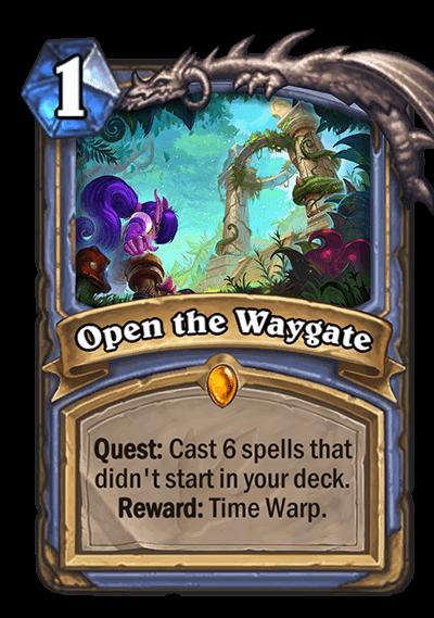 Open the Waygate