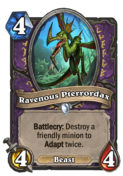 Ravenous Pterrodax