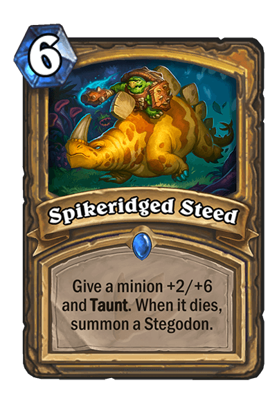 Spikeridged Steed