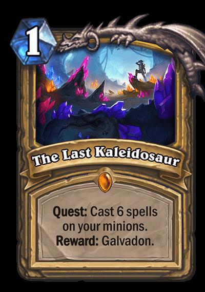 The Last Kaleidosaur