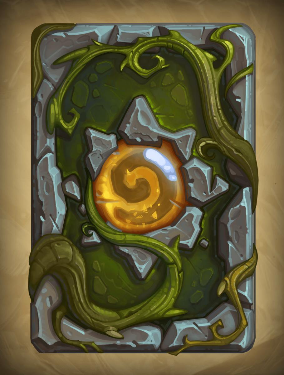 Un'Goro rejtélye kártya hátlap