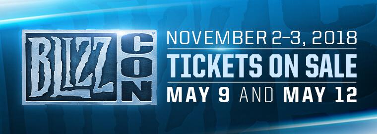 BlizzCon 2018 - november 2. és november 3.