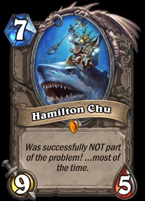 Hamilton Chu kártya