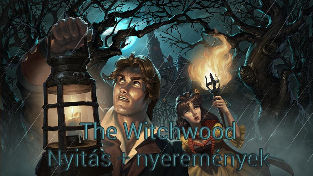 Április 12. 17:00 - A nagy Witchwood kártyacsomag nyitás