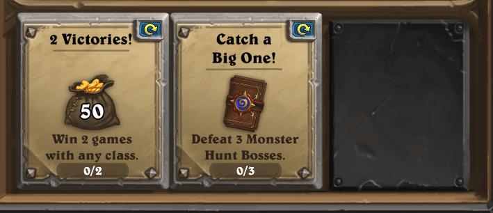 Monster Hunt bug