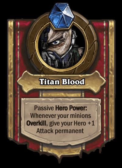 Bane Hero Power Titan Blood