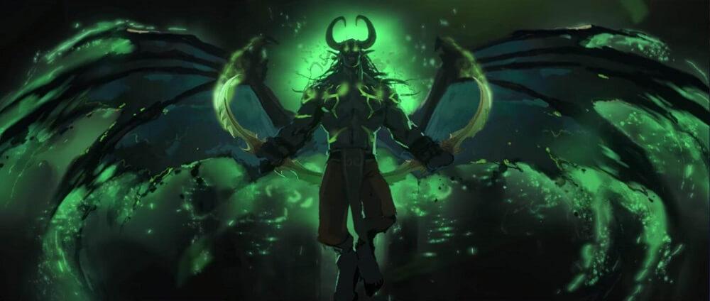 Illidan Stormrage WoW: Legion