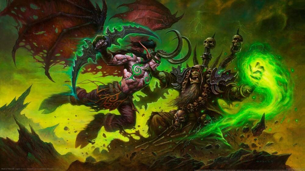 Illidan Stormrage vs. Guldan