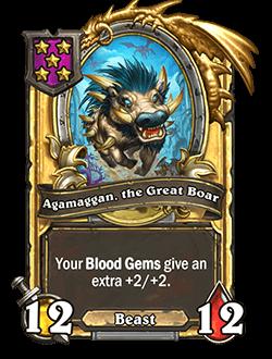 Agamaggan, the Great Boar Golden