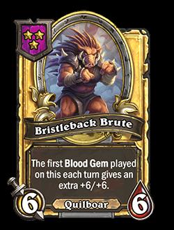 Bristleback Brute Golden