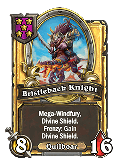 Birstleback Knight Golden