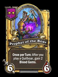 Prophet of the Boar Golden