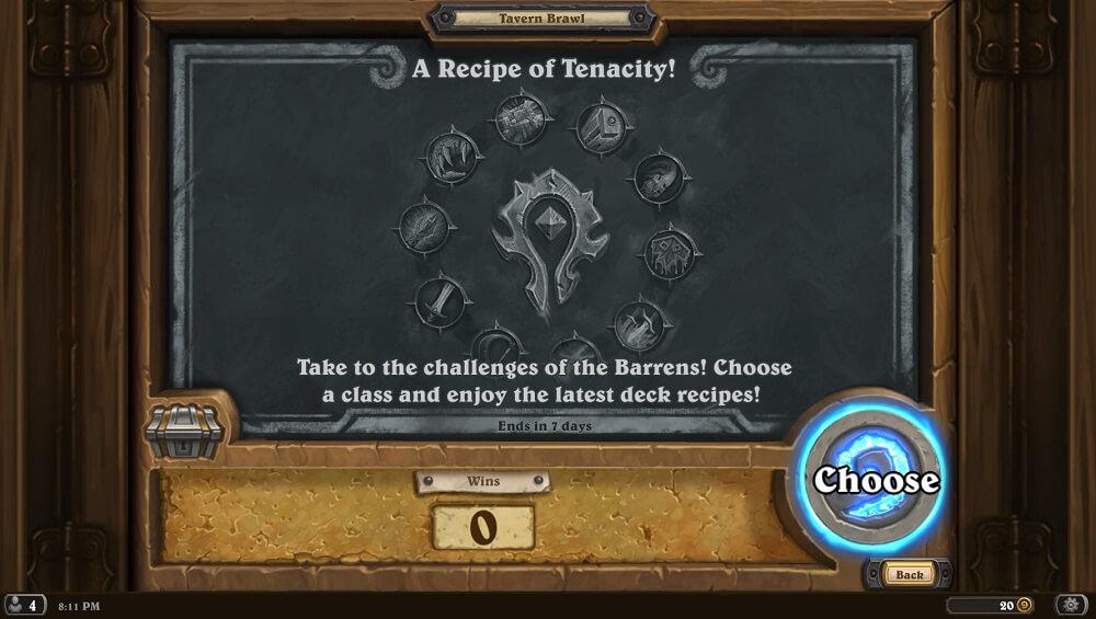 Recipe of Tenacity Tavern Brawl