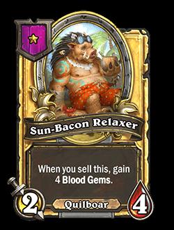 Sun-Bacon Relaxer Golden