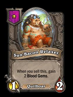 Sun-Bacon Relaxer