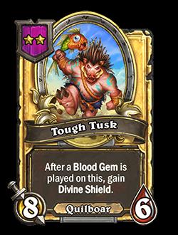 Tough Tusk Golden