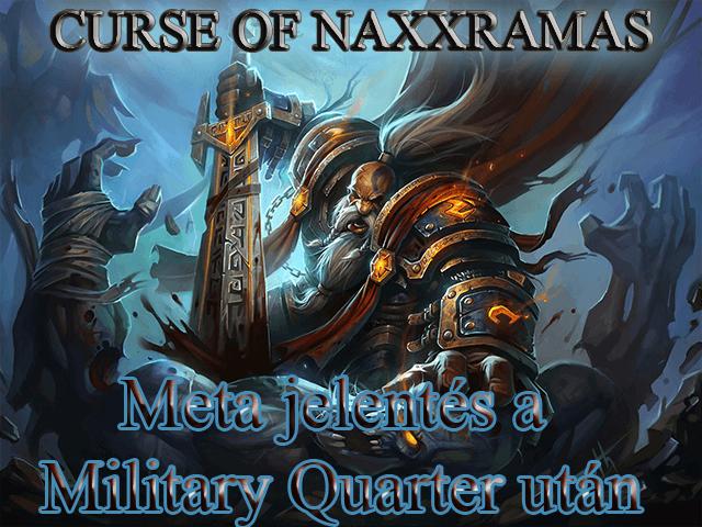 Meta jelentés Naxxramas harmadik szárnya után