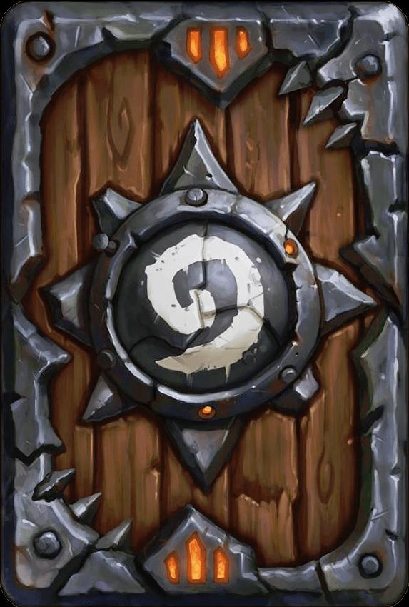 warlods of draenor hearthstone kártya hátlap