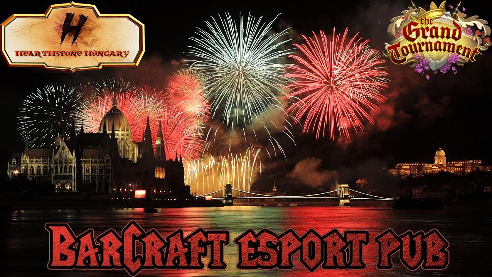 Tűzijáték váró Hearthstone Hungary találkozó a BarCraft-ban
