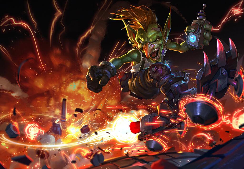 goblin explosions art