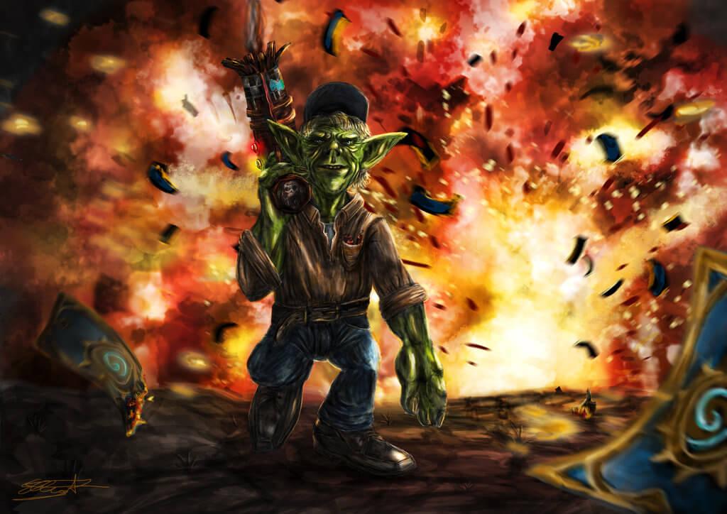 goblins vs gnomes art