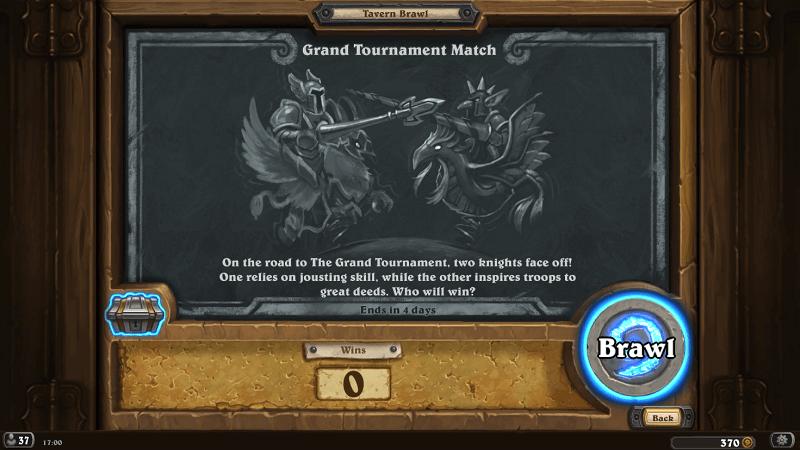 A Grand Tournament Kocsmai Verekedés