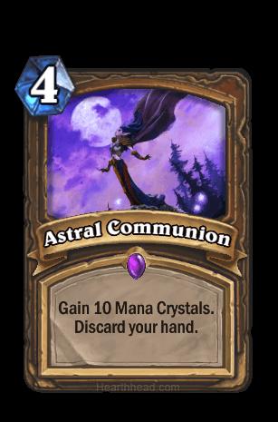 astral communion hearthstone kártya