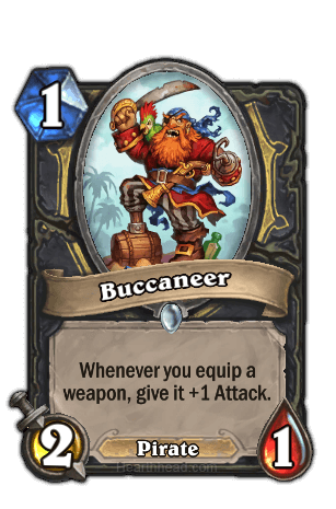 buccaneer hearthstone kártya