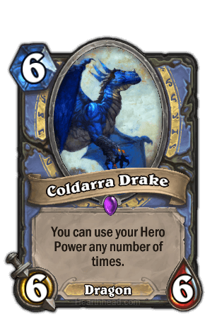 coldarra drake hearthstone kártya