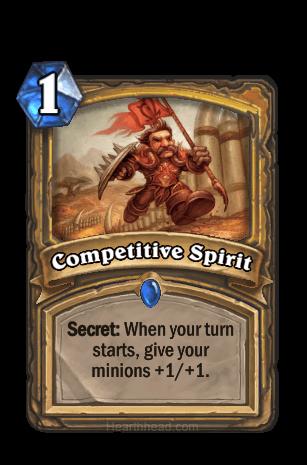 competitive spirit hearthstone kártya