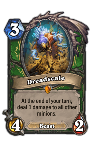 dreadscale hearthstone kártya