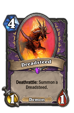 dreadsteed hearthstone kártya