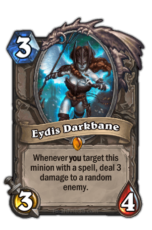 eydis darkbane hearthstone kártya