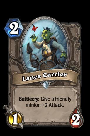 lance carrier hearthstone kártya