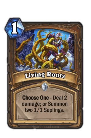 living roots hearthstone kártya