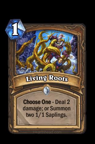 living roots hearthstone kártya