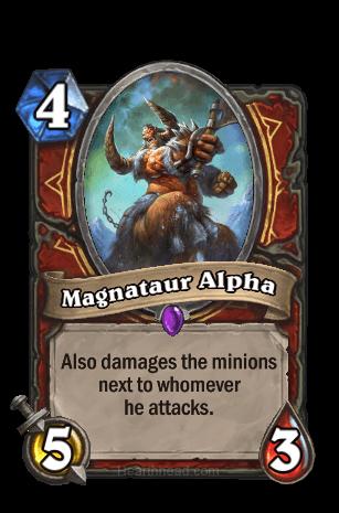 magnataur alpha hearthstone kártya