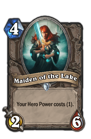 maiden of the lake hearthstone kártya
