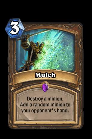 mulch hearthstone kártya